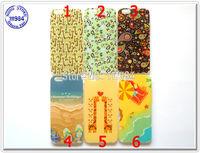 For iPhone 6 Case Soft TPU Comic Flowers Beach Giraffe Sea Sunshine Design Smartphone Skin for Apple iPhone6 2014 New Arrival