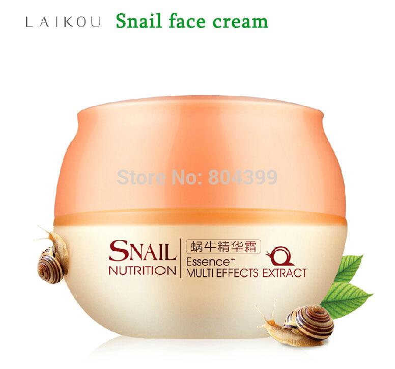 Snail Cream Face Care Skin Treatment Reduce Scars Acne Pimples Moisturizing Whitening Anti Winkles Aging Cream(China (Mainland))