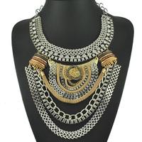 Fashion Multilevel Chain Statement Necklaces Women Choker Necklaces