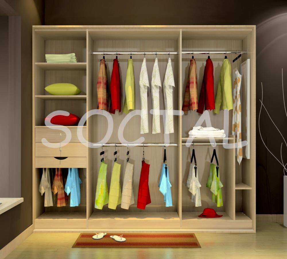 Wooden Wardrobe Styles : fashion style 3 doors sliding wooden wardrobe children wardrobe ...