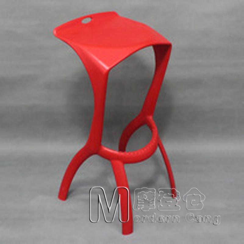Modern Warehouse Deshark chair shark Zuiba plastic chair bar stool bar stool Yuzui tall bar chairs(China (Mainland))