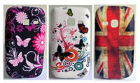 3 x Cute Sun Flower Soft Skin Case Cover For Samsung Galaxy Y Duos S6102 + Free Screen