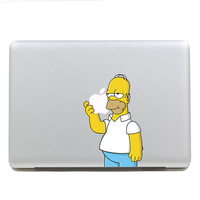 Removable Avery waterproof cartoon colors cute Simpson tablet sticker and laptop computer sticker for macbook Pro 15,170*270mm