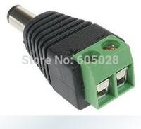 100pcs DC Power Jack Adapter Male LED Strip Connectors