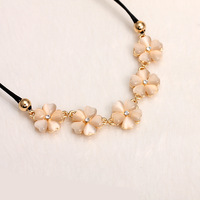 Four leaf clover - eye fashion chain all-match short design necklace trend accessories female