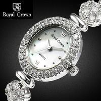 Royal Crown Bracelet watch drill watch South Korea fashion set  female table