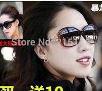 New glasses 2014 ms polarization authentic tide sunglasses driving glasses a xin frog mirror sunglasses