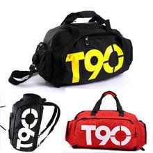 New Fashion Mulitifunctional Men's Travel Bags Brand Waterproof Outdoor T90 Sport Bags Duffle Gym Bag Casual Men's Backpacks(China (Mainland))