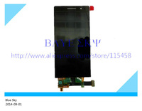 LCD Display with Touch Screen Digitizer for Huawei Ascend P6 Black and White Color free shipping