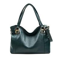 2014 Genuine Leather Women Handbag Fashion Women Leather Handbag Trendy Shoulder Bag Joker Women Messenger Bag New Big Bag Totes