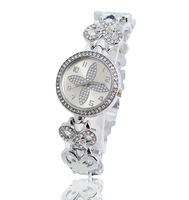 Wholesale Fashion Gold Plated Watch Women Ladies Crystal Quartz Dress Watch Wristwatches TW045