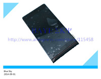 LCD Screen with Touch Screen Digitizer with Frame for Huawei Ascend P6 Black color free shipping