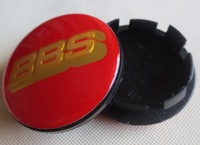 20pcs 2.6Inches 65mm resin BBS Wheel Center caps hub cover car Badges Emblem red / gold letters, black / gold letter