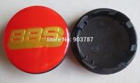 100pcs 2.6Inches 65mm resin BBS Wheel Center caps hub cover car Badges Emblem red / gold letters, black / gold letter