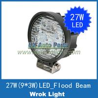 "10PCS 4"" CREE LED Work Light 27W SPOT Beam Off-roads Auto Car Truck 4WD 4x4 LED Daytime Driving Running DRL Light Fog Head Lamp"