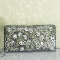 High Quality Designer Women Handbags Genuine Leather Snake 2014 New Womens Handbag Diamond Purse Evening Bag Wholesale