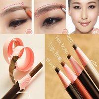 Hot Sale Charm Women Fashion Soft Crayon Waterproof Eyebrow Eyeliner Makeup Pencil Beauty Makeup Eyebrow Enhancer