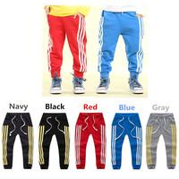 Autumn Baby Boy Pants Top Quality Children's Clothing Harem Pants Loose Baby Boy Cotton Sport Trousers Cotton Boys Pants