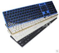 Chocolate original tune KB-908 USB wired keyboard slim notebook computer white desktop external keyboard