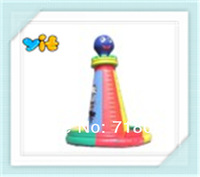 113*84*69   PVC  funny and interesting inflatable climbing wall for adult