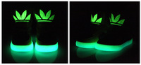 Hot children's fashion casual shoes, Boys and girls Fluorescence luminous shoes, children's shoes size:26 - 37 Free shipping