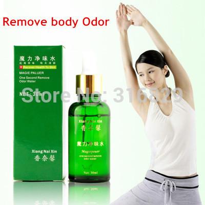 Unisex Magic Remove body Odor Water deodorant for men women underarm hircismus cleaner,antiperspirant deodorant(China (Mainland))