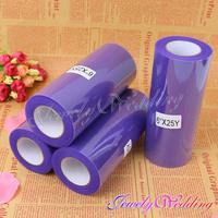 "Free shipping 4pcs/lot Purple Tulle Roll Spool 6""x25YD Tutu Skirt DIY Wedding Party Favor Bow Decor New"