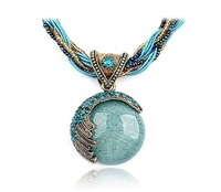 2014 New Arrival Bohemian Style Women Necklace Vintage Women Short Necklace European Hot Selling Women Fashion Necklace