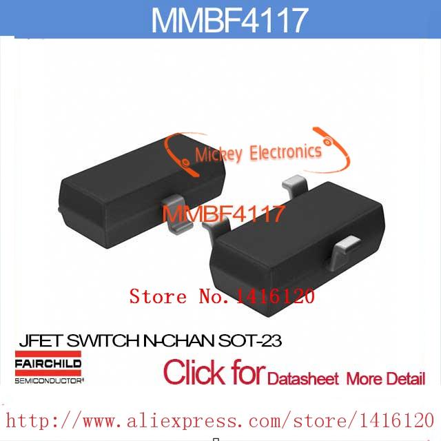 MMBF4117 JFET SWITCH N-CHAN SOT-23 MMBF4117 4117 F4117 BF4117(China (Mainland))
