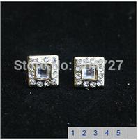 wholesale femininos cross stud earrings  girl pearl earrings stud earrings free shipping E243