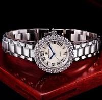 Royal Crown blue balloon steel belt South Korea fashion waterproof quartz watch