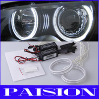 Russia Car CCFL Angel Eyes Headlight for Lada Vaz 2114 with 4pcs CCFL Halo Rings and 2pcs CCFL Inverters