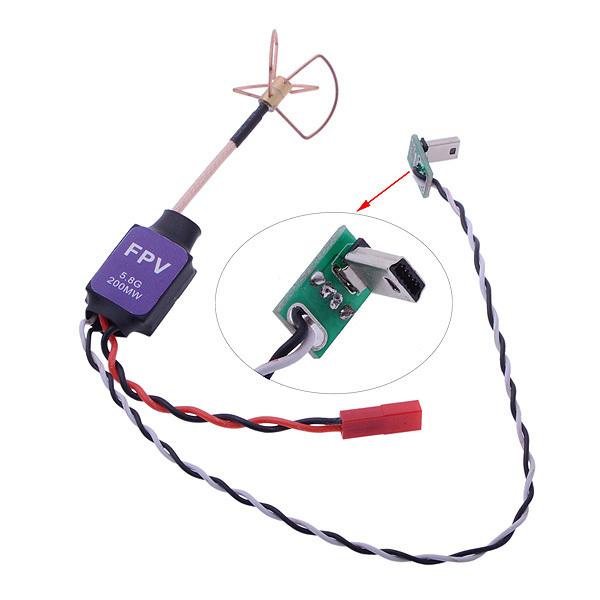 Запчасти и Аксессуары для радиоуправляемых игрушек OEM 5,8 5,8 FPV 200MW AV w/dji F450 F550 Gopro Camere FPV 21348 запчасти и аксессуары для радиоуправляемых игрушек oem 10 fpv ptz 20908