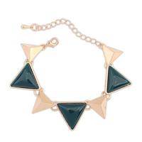 2014 Europe and America Fashion Punk Vintage Bracelet Geometric Triangle  Alloy Bangle For Women Retail&Wholesale Free Shipping