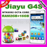 "100% Original JIAYU G4S Octa core mobile phone MTK6592 RAM2GB+16G 4.7""FHD 13.0MP Camera 3000mAh GSM WCDMA Android4.2 GPS WiFi"