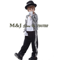 Free shipping!!Acting superstar Michael Jackson plays a suit costumes Halloween costume party prince boy Michael Jackson