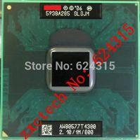 For Intel Pentium T4300 CPU (1M Cache, 2.1GHz,800 MHz FSB) PGA478, SLGJM ,TDP 35W, Laptop CPU Compatible GM45 PM45 GM965 GL40