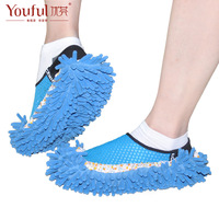 Free shipping Chenille shoe covers / lazy to wipe shoe / removable and washable slippers winter floor / mop to wipe shoes