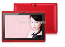 Q88 nova chegada 7 polegadas dual core tablet android pc Allwinner A23 tela android 4.2.2 jogos câmera dupla WIFI capacitivo mais barato(China (Mainland))