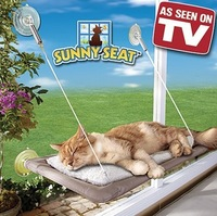 Window Mounted Cat Bed Machine Washable Cover Free Shipping