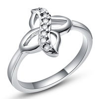 Best Quality Platinum Plated Luxury Austrian Crystals Rings,Fashion Rhinestone Rings,Wholesale Fashion Jewelry,GYJ446