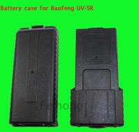 2014 New Black 3800 mAH AA battery case for BAOFENG UV-5R handheld Two Way Radio  Free shipping J5YJ