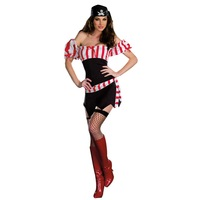 New Lovers Women's Pirate Costume Halloween Party Show Female dress clothes Uniform Cosplay Stage play cloth ,superhero costume