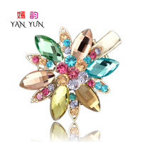 Hair Jewelry crystal rhinestone bow flower hair clips hair pin side-knotted clip hair accessory hair accessory