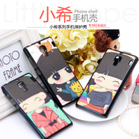 for xiaomi shell small phone case red  rice protective case scrub glitter plastic shell wholesale