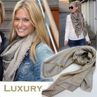 Brand Scarf Women Classics Style Fashion Silk Scarf Winter Scarf Cape Wrap Muffler Tippet Cashmere Scarf