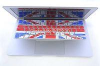 FreeShip 2pcs America china Australia UK England national flag pattern Silicone Keyboard Cover Skin for Macbook air Pro 13 15