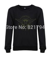 2014 top fashion women/Men sweatshirts Captain America Classic logo SSR strategic scientific reserve mens hoody hoddes fleece