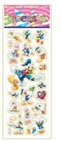(7*17cm) SPONGE FROZEN STICKERS/kids toys/DIY Adhesive paper game