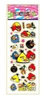 child paper toys agary brild  paper sticker SPONGE FROZEN STICKERS/kids toys/DIY Adhesive paper game 7*17cm